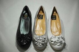 ゴールデンフット 婦人靴 6043 カジュアルシューズ カジュアルパンプス