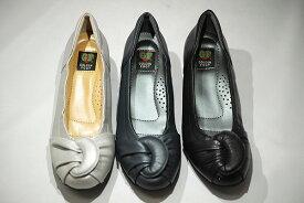 ゴールデンフット 婦人靴 6032 カジュアルシューズ カジュアルパンプス 革