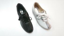 ゴールデンフット 婦人靴 607 ウォーキングシューズ 3E
