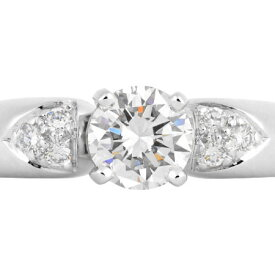 ヴァンクリーフ & アーペル Van Cleef & Arpels ジネット リング ダイヤモンド 0.57ct(D/VVS2/VG) Pt950 #9【中古】