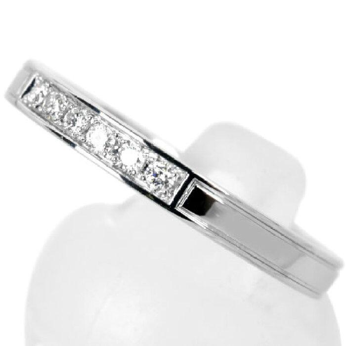 ハリーウィンストンHARRYWINSTONトラフィックバイハリーウィンストンアクセントバンドリングPt9506.6g#19ダイヤモンド【中古】