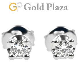ブルガリ BVLGARI コロナ ピアス ダイヤモンド イヤリング K18WG 2.5g OR51339【中古】
