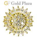 ポンテヴェキオ Ponte Vecchio フラワーモチーフ ダイヤモンド 2.69ct リング K18YG 10.9g 日本サイズ:6.5号 ひまわ…