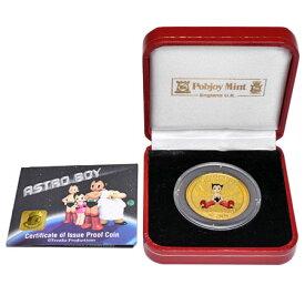 鉄腕アトム 誕生記念 金貨 K24 純金 1オンス 31.1g 500シエラレオネ ドル 2003年