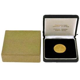 日本万国博覧会 アメリカ館 記念金メダル EXPO '70 K24 40.3g 1970年 大阪万博 コレクターズアイテム