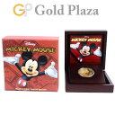 ニュージーランド ミッキーマウス プルーフ 金貨 コイン 1オンス 純金 K24 31.1g ニウエ 200ドル 2014年 ディズニー …