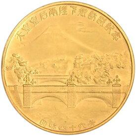 天皇皇后両陛下公式御訪米記念 純金メダル 昭和46年 54.3g 松本徽章工業株式会社