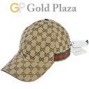 グッチ GUCCI オリジナル GGキャンバス ベースボールキャップ サイズ59 メンズ 200035 KQWBG 9791 帽子【中古】