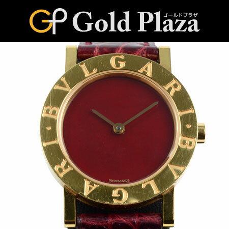 ブルガリ BVLGARI ブルガリ・ブルガリ K18YG BB26DGL レディース クオーツ式腕時計 6ヶ月間動作保証付【中古】
