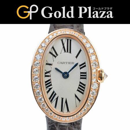 【sale】カルティエ ミニ ベニュワール PG ベゼルダイヤ WB520028 レディース クオーツ 腕時計 6ヶ月動作保証付 代引きでのカード払い不可【中古】
