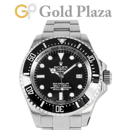 ロレックス ROLEX シードゥエラー ディープシー 116660 ランダム番 自動巻き 腕時計 メンズ ステンレス×セラミック 6か月動作保証付 代引きでのカード払い不可【中古】