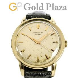 パテックフィリップ PATEK PHILIPPE カラトラバ 2481J K18YG メンズ 腕時計 手巻 革ベルト【中古】