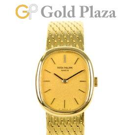 パテックフィリップ PATEK PHILIPPE ゴールデン エリプス 手巻き 腕時計 K18YG レディース 4564/3 16-250【中古】