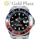 ロレックス ROLEX GMTマスター2 16710 P番 赤青ベゼル SS メンズ 腕時計 自動巻 黒文字盤【中古】
