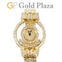 ショパール Chopard ハッピーダイヤモンド リボン 7P ダイヤモンド 全面ダイヤ K18YG レディース 腕時計 クォーツ 409…
