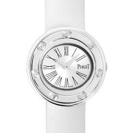 ピアジェ PIAGET ポセション 7P ダイヤモンド ベゼル K18WG 腕時計 クォーツ シルバー文字盤 GOA35085【中古】