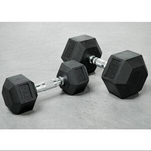 TORQUE FITNESS ラバーヘキサゴンダンベル 12.5kg   筋トレ フリーウェイト ホームジム フィットネス トレーニング ゴールドジム ダンベル