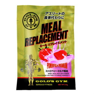 GOLD'SGYM(ゴールドジム)ミールリプレイスメントストロベリーミルク風味F8620