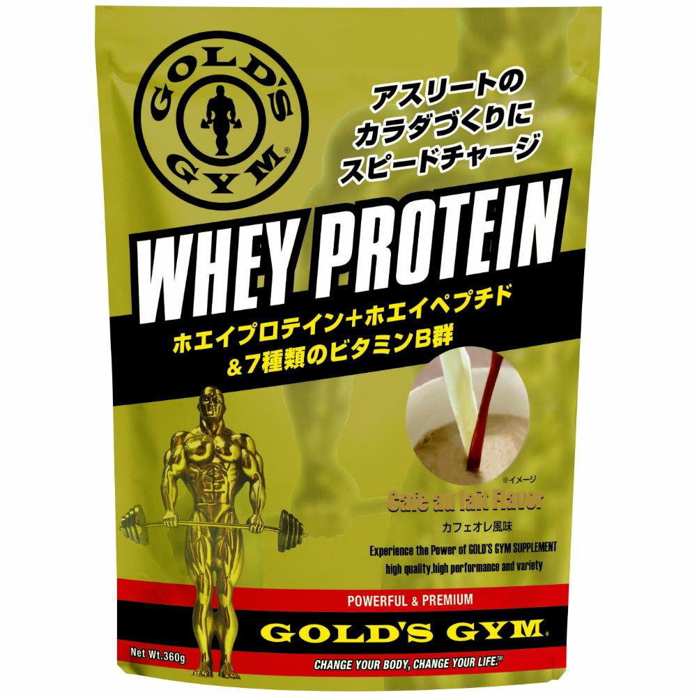 GOLD'S GYM(ゴールドジム)ホエイプロテイン カフェオレ風味 720g