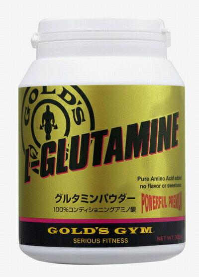 【コンディショニング】GOLD'S GYM(ゴールドジム)グルタミンパウダー500g