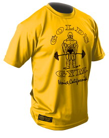【速乾性抜群】GOLD'S GYM(ゴールドジム)GOLD'S DRYシャツ(オリジナル)G2246