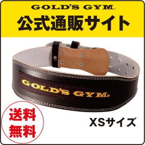 GOLD'SGYM(ゴールドジム)アンティークレザーベルト(パット付)G3323