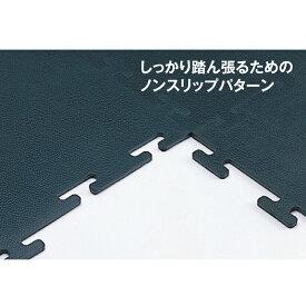 【日本総代理店】 IVANKO イヴァンコ 社製 インターロック式ラバーフロア 9.5mm厚 ブラック 【センター CTR-4】
