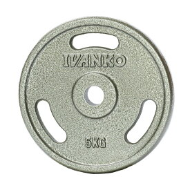 IVANKO(イヴァンコ社製 スタンダードペイントプレート 5kg IBPNEZ-5【日本総代理店】 【Φ28mm高品質バーベルプレート】