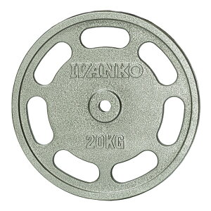 【20kg】IVANKO イヴァンコ スタンダードペイントプレート IBPNEZ-20【日本総代理店】Φ28mm 高品質バーベルプレート 28mmプレート バーベルプレート バーベル