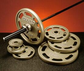 【Φ50mm高品質バーベルプレート】IVANKO(イヴァンコ社製エクササイズプレートオリンピックペイントイージーグリッププレート 10kg OMEZ-10