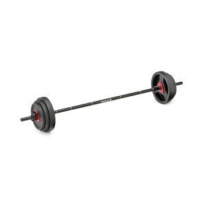 Reebok リーボック ウエイトセット 20kg RSWT-16091 | バーベルセット ウェイトセット 筋トレ トレーニング
