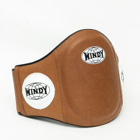 【日本総代理店】WINDY(ウィンディ) BLPV ベリープロテクター(マジックテープ式)ナチュラル  本革 格闘技 ボクシング キックボクシング
