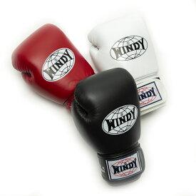【日本総代理店】WINDY(ウィンディ) BGVH トレーニンググローブ(テープ式) 8oz 10oz 12oz 14oz 16oz | 格闘技 ボクシング キックボクシング ボクシンググローブ