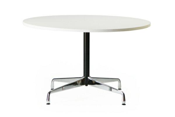 ■送料無料■新品■イームズ コントラクトテーブル 丸テーブル アルミナムテーブル ラウンドテーブル 直径120 cm 高さ74cm ■ホワイト ST