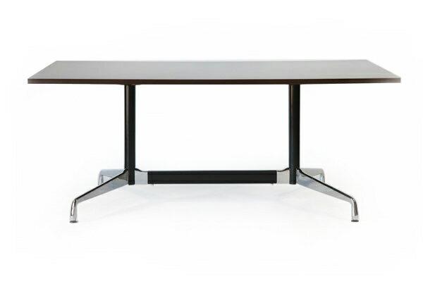 送料無料 新品 イームズ セグメンテッドベーステーブル イームズテーブル アルミナムテーブル W180×D100×H74 cm ウォールナット ST