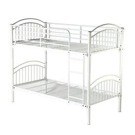 送料無料 新品 4カラーから選べる パイプ二段ベッド パイプ2段ベッド 二段ベッド 2段ベッド パイプベッド シングルベッド スチールベッド A
