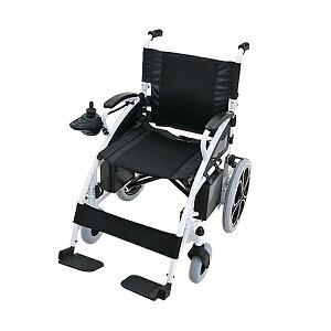 送料無料 電動車椅子 白 折りたたみ 車椅子 TAISコード取得済 コンパクト ノーパンクタイヤ 電動 手動 充電 電動ユニット 電動アシスト 電動カート 折り畳み 車椅子 車イス 車いす 四輪車 4輪