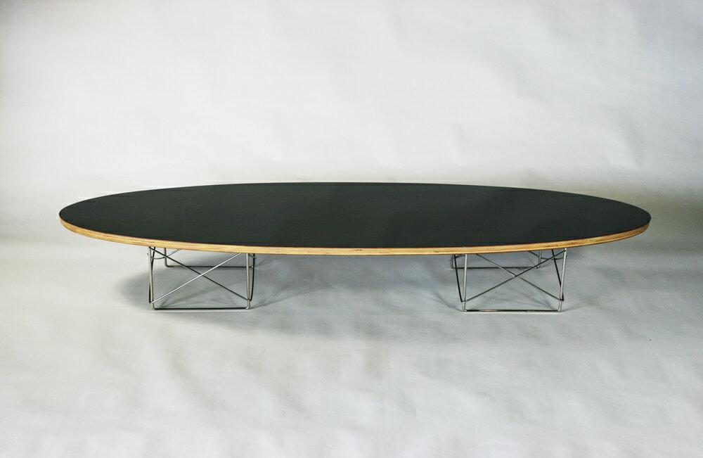 ■新品 サーフボードテーブル ETRテーブル チャールズ&レイ・イームズ ミッドセンチュリー ■ブラック■
