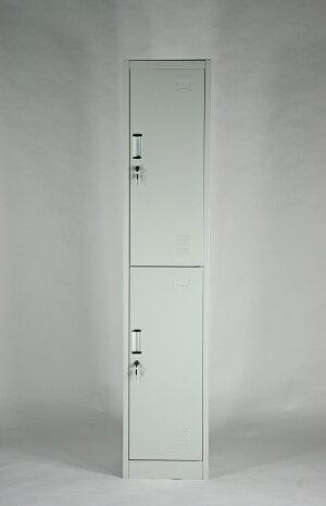 送料無料新品スチールロッカースチールキャビネット隙間家具2人用10-006
