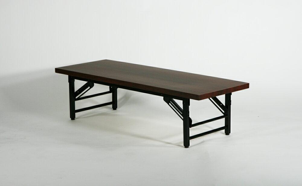 送料無料 新品 折畳み 折りたたみ 座卓テーブル 長机 会議テーブル 会議用テーブル 座卓(ロータイプ) ミーティングテーブル 7650S 120x45x33cm
