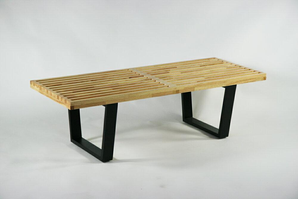 送料無料 新品 ネルソンベンチ 121x47.5x36.5(cm) 約120cm Sサイズ 北欧家具 デザイナーズ ナチュラル