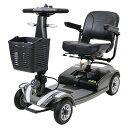 送料無料 新品 電動シニアカート グレー シルバーカー 車椅子 TAISコード取得済 運転免許不要 折りたたみ 軽量 コンパ…