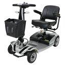 送料無料 新品 電動シニアカート 銀 シルバーカー 車椅子 運転免許不要 折りたたみ 軽量 コンパクト 電動カート 四輪…