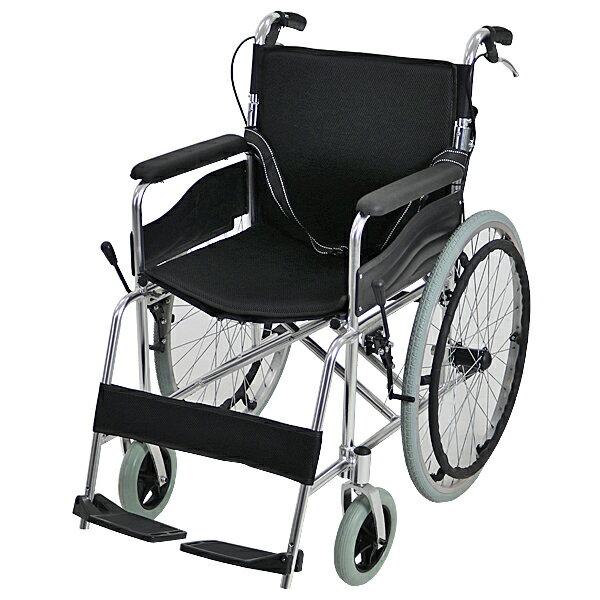 送料無料 車椅子 アルミ合金製 黒 約12kg 背折れ 軽量 折り畳み 自走介助兼用 介助ブレーキ付き ノーパンクタイヤ 自走用車椅子 自走式車椅子 折りたたみ コンパクト 軽い 背折れ式 自走用 介助用 自走式 自走 介助 車椅子 車イス 車いす ブラック wheelchairs05bk