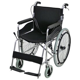 送料無料 車椅子 アルミ合金製 黒 約12kg TAISコード取得済 背折れ 軽量 折り畳み 自走介助兼用 介助ブレーキ付き ノーパンクタイヤ 自走用車椅子 自走式車椅子 折りたたみ コンパクト 軽い 背折れ式 介助用 自走式 自走 介助 車椅子 車イス 車いす ブラック wheelchairs05bk