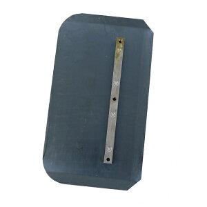 パワートロウェル用スーパーブルーコンビネーションブレード 4枚セット 約W355×約D200×約H2mm ネジ穴径約6.6mm 刃厚約2mm ブレード 羽根 トロウェル トロウェル用 均し 仕上げ フィニッシュ 共用