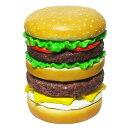 椅子 ハンバーガー ハンバーガー型椅子 イースねシリーズ ハンバーガー ※代引き不可商品