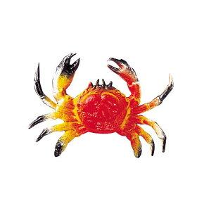 海の生物 オブジェ 10cmカニ 夏の海装飾 ディスプレイ・飾り用 12個セット販売