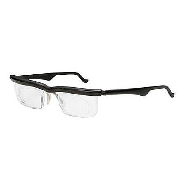 アドレンズ ライフワン ブラック 00009641 遠視/近視/老眼全対応の視力補正用眼鏡 母の