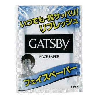ギャツビーフェイスペーパー1枚入 (35794) 100枚セット販売 清涼成分&ベタつき防止のスムースパウダー配合